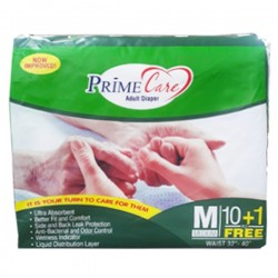 PRIME CARE ADULT DIAPER M