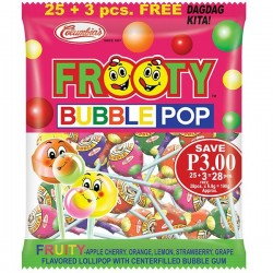 FROOTY BUBBLE POP 20'S...