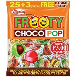 FROOTY CHOCO POP 25'S183.3G...