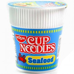 NISSIN CUP NOODLES SEAFOOD 60G