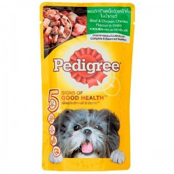 PEDIGREE BEEF & CHICKEN...