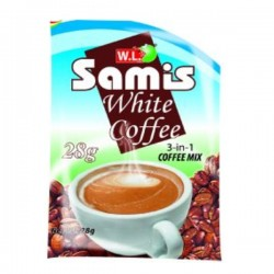 WL SAMIS WHITE COFFEE 3IN1 28G
