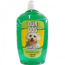 OUR DOG ALOE VERA SHAMPOO...