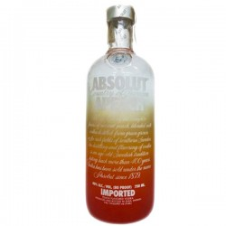 ABSOLUT APEACH IMPORTED...