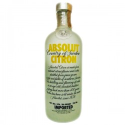 ABSOLUT CITRON IMPORTED 750ML