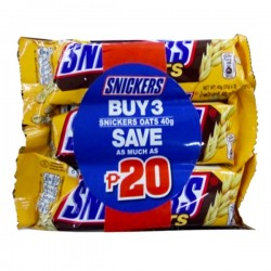 BUY 3 SNICKERS OATS 40G...