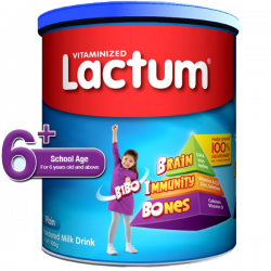 LACTUM 6+ POWDERED MILK...