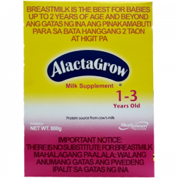 ALACTAGROW MILK SUPPLEMENT...