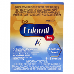 ENFAMIL TWO A+ LACTOSE FREE...