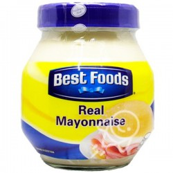 BEST FOODS REAL MAYONNAISE...