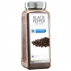 MC CORMICK BLACK PEPPER...