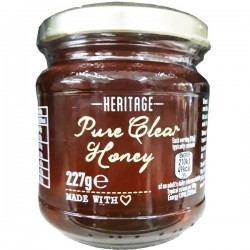 HERITAGE PURE CLEAR HONEY 227G