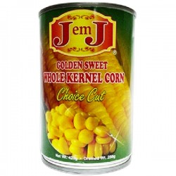J EM J WHOLE KERNEL CORN 425G