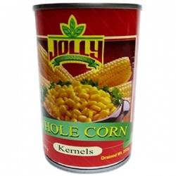 JOLLY WHOLE KERNEL CORN 425G