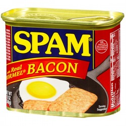 HORMEL SPAM BACON 340G