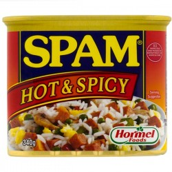 SPAM HOT & SPICY 340G