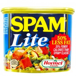 SPAM LITE 50% LESS FAT...
