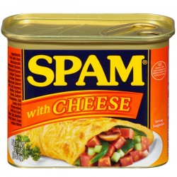 SPAM WITH CHEESE 340G