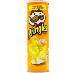 PRINGLES CHEDDAR CHEESE 158G