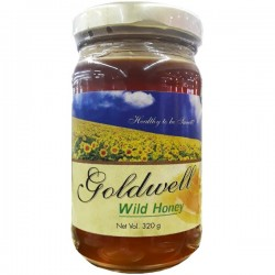 GOLDWELL SUNFLOWER HONEY 320G
